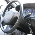 keys left in car