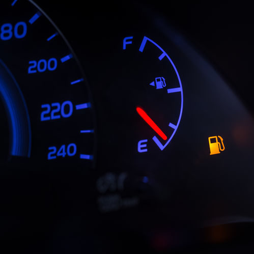 Gas Light Indicator On Dash.