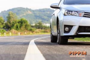 Vehicle Tire Blowout